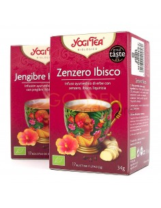 Yogi Tea Zenzero Ibisco