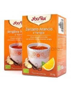 Yogi Tea Zenzero Arancio e...