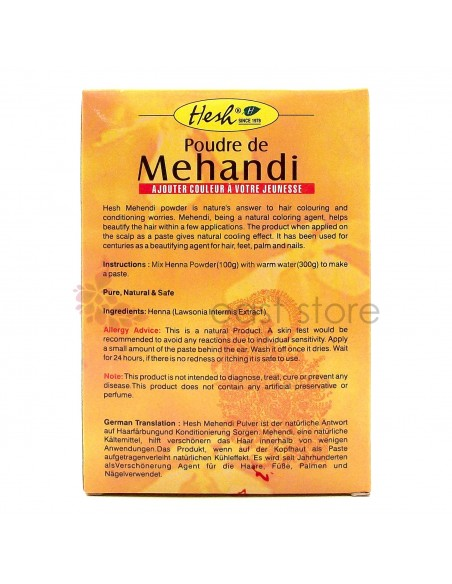 Hesh Mehandi Hennè Body Art Quality