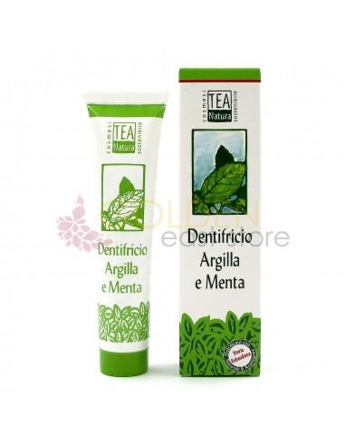 Tea Natura Dentifricio Argilla e Menta