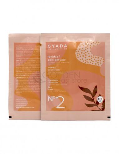 Gyada Maschera in Tessuto Lenitiva / Pelli Delicate N.2