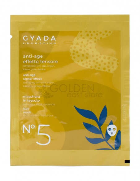 Gyada Maschera in Tessuto Anti-Age / Effetto Tensore N.5