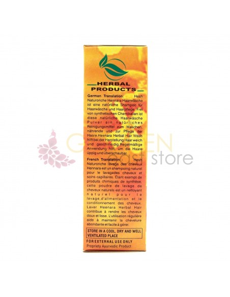 Hesh Heenara Herbal Hair Wash (Impacco Lavante)