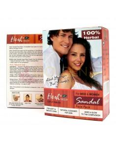 Hesh Sandal Face Pack (Maschera al Sandalo)