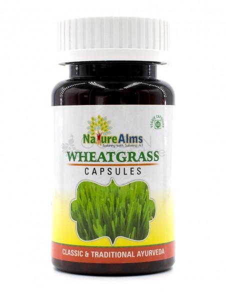 NatureAlms Wheatgrass (Erba di Grano) Integratore