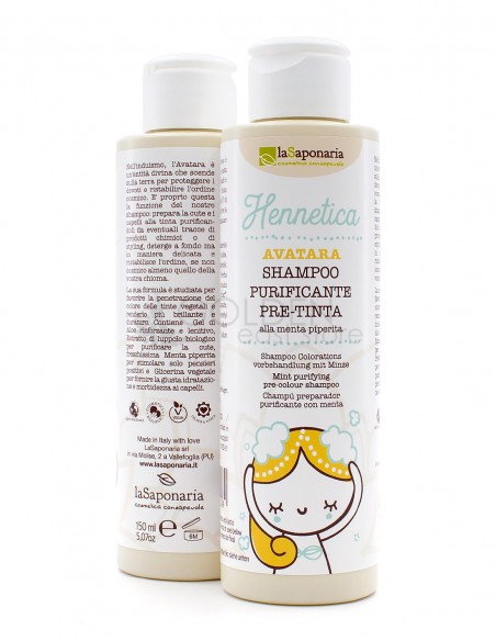 La Saponaria Avatara Shampoo Purificante Pre-Tinta