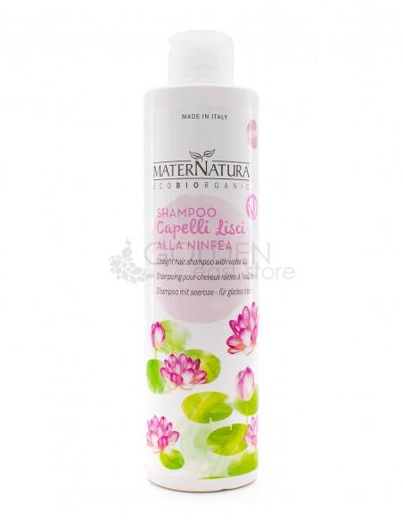 Maternatura Shampoo Capelli Lisci alla Ninfea