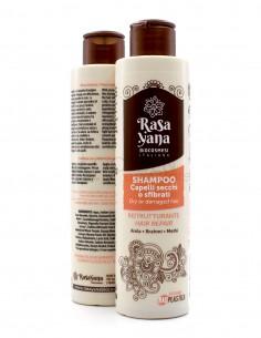 Rasayana Shampoo Capelli Secchi o Sfibrati Ristrutturante