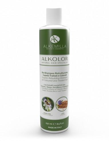 Alkemilla Bio Shampoo Ristrutturante Capelli Trattati e Colorati