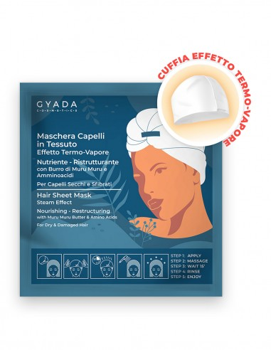 Gyada Maschera Capelli in Tessuto Nutriente e Ristrutturante