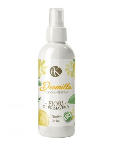 Alkemilla Deomilla Fiori di Primavera Deodorante Spray