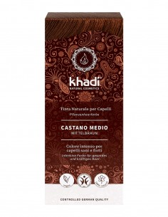 Khadi Tinta Naturale Medium Brown (Castano Medio)