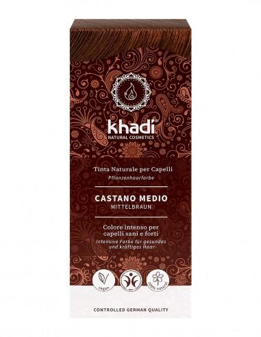 Khadi Tinta Naturale Medium Brown (Castano Medio)