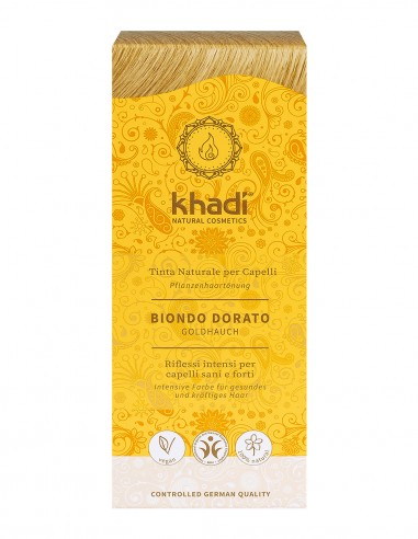 Khadi Tinta Naturale Golden Hint (Biondo Dorato)