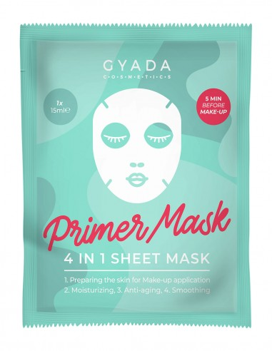 Gyada Primer Mask - 4 in 1 Sheet Mask