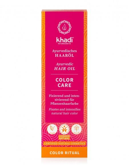 Khadi Olio per Capelli Ayurvedico Color Care