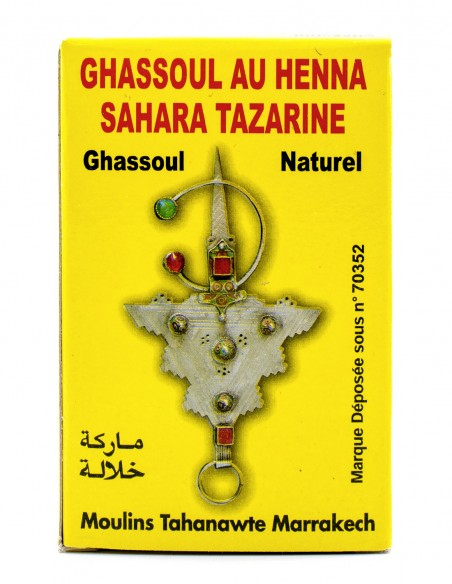 Henna Sahara Tazarine Hennè con Ghassoul